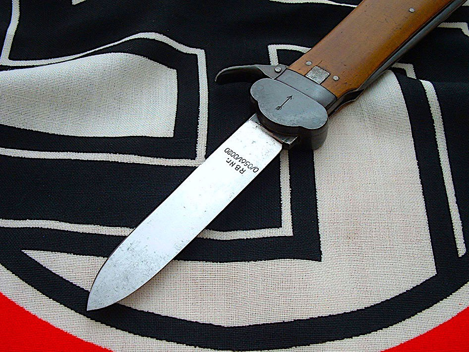 paratrooper-s take down gravity knife by weyersberg - d624 - 3