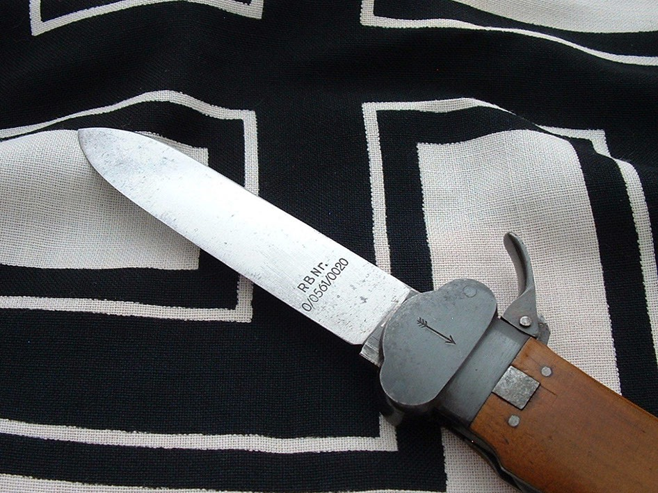 paratrooper-s take down gravity knife by weyersberg - d624 - 4